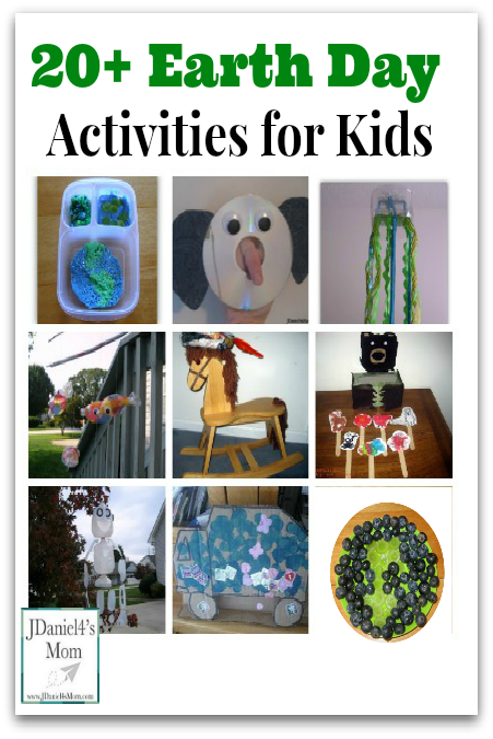20+ Earth Day Activities for Kids Pinterest