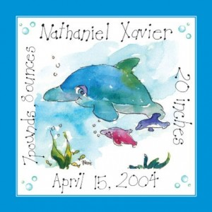 In the Swim of It : Personalized Print by Pink Paws Art or a Print of Your Choice Up to a $25 Value Giveaway
