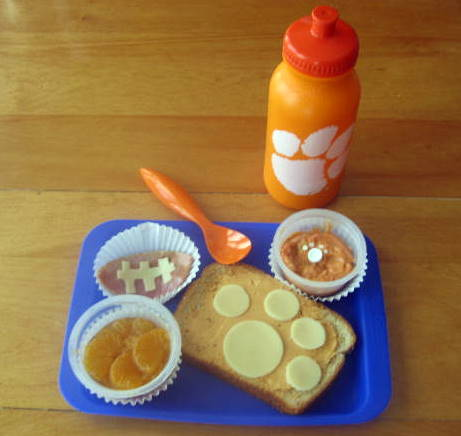Clemson Bento Lunch Idea