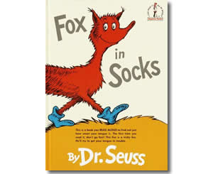 Fox in Sox by Dr, Seuss