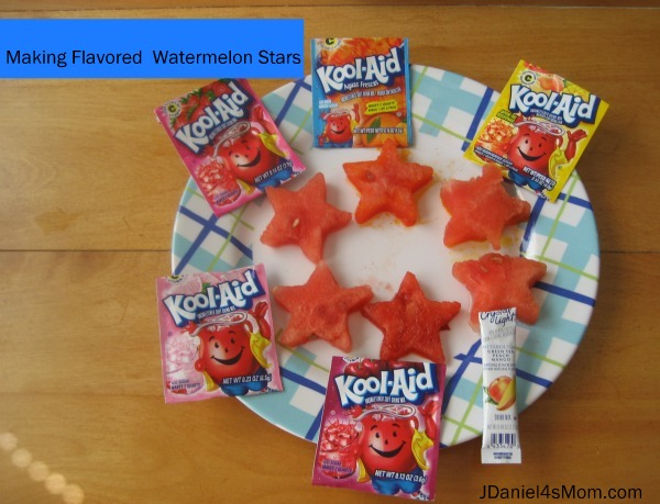 Watermelon Recipe - Fruit Flavored Watermelon Stars