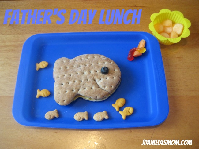 Father's Day Fish Sandwich