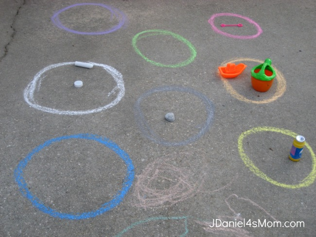 Sorting Colored Chalk