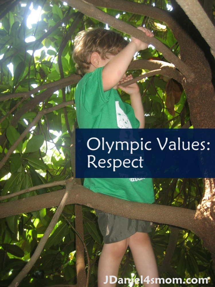 Olympic Values: Week One- Respect