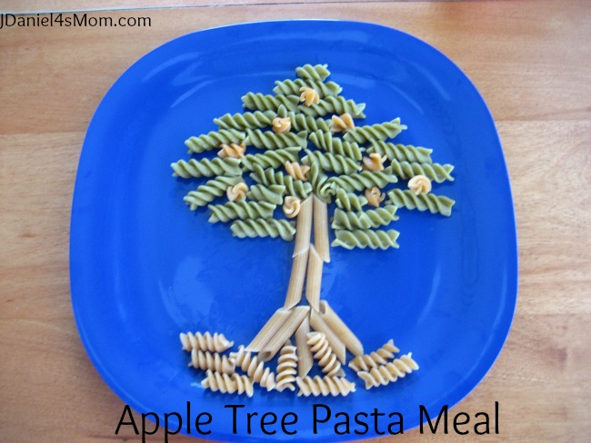 Apple Tree Pasta Meal for Kids