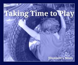 Taking Time to Play- Little Moments