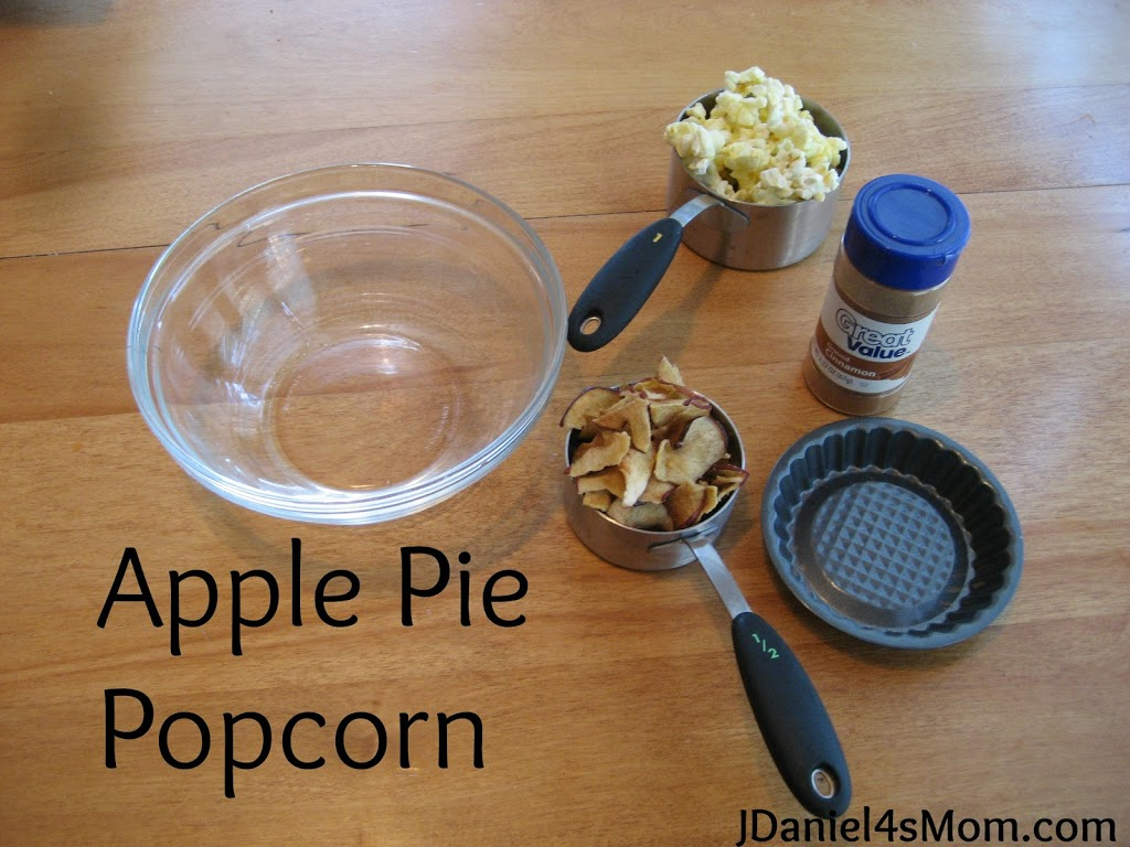 Gimme Cracked Corn and I Will Share- Read.Explore.Learn - Apple Pie Popcorn