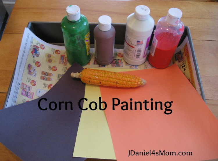 Gimme Cracked Corn and I Will Share- Read.Explore.Learn - Corn Cob Painting