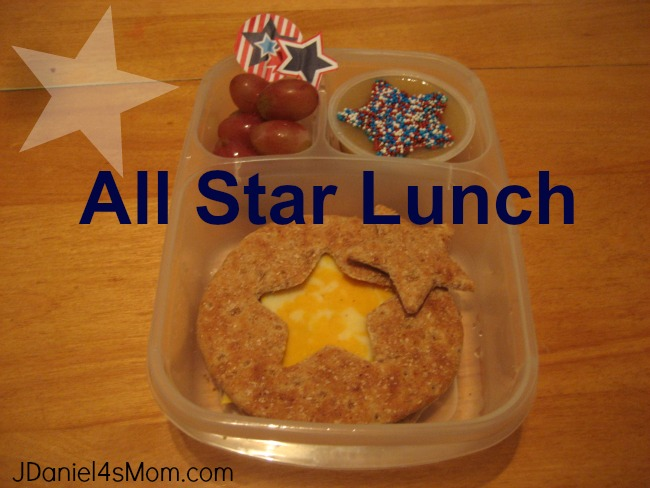 LBento Lunch for Kids- All Star Lunch