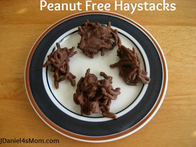 The Lonely Scarecrow Activities for Kids- Peanut Free Haystack Cookies