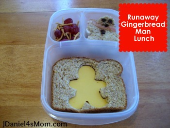 How to Make a Gingerbread Man Lunch