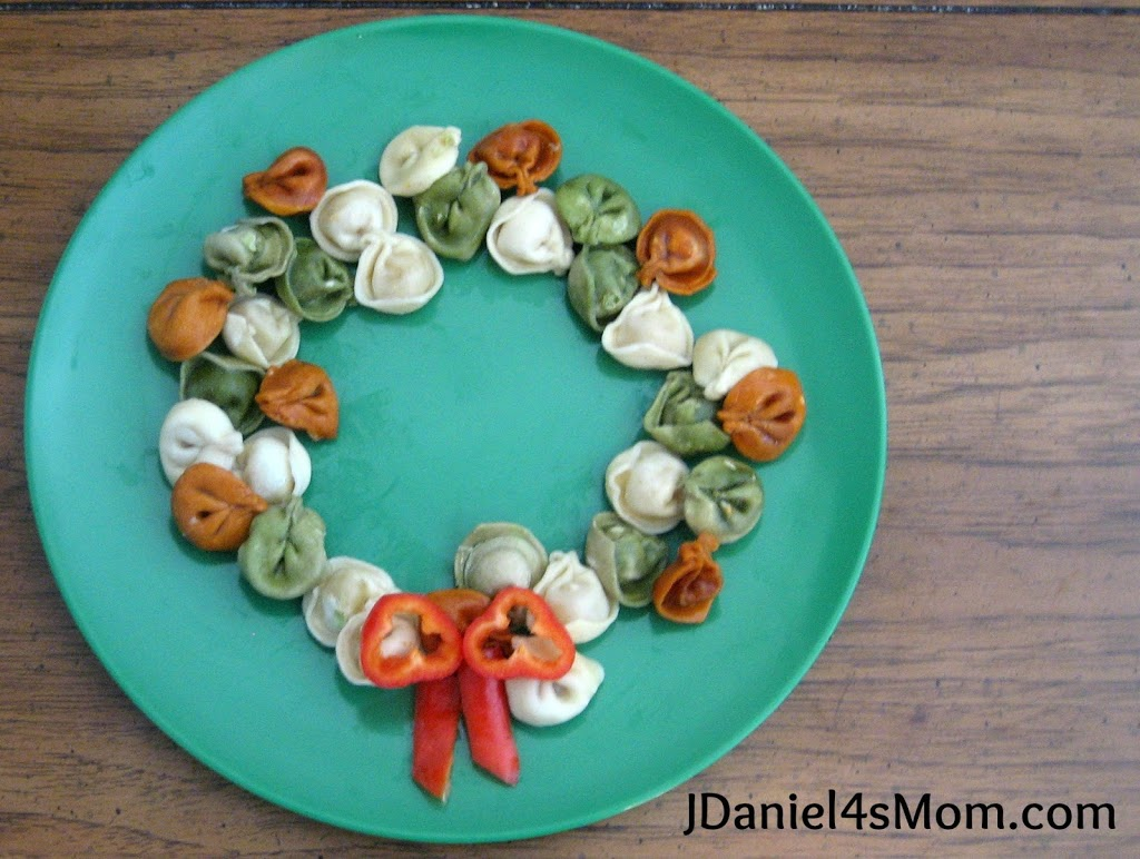 Holiday Hop for Goodies- Christmas Wreath Pasta