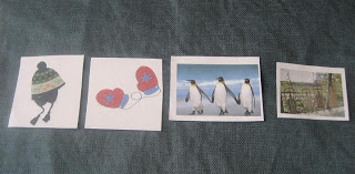 One Snowy Day Counting Activity - You can put the pictures in number order.