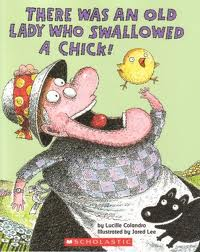 There Was An Old Lady Who Swallowed a Chick! Activities