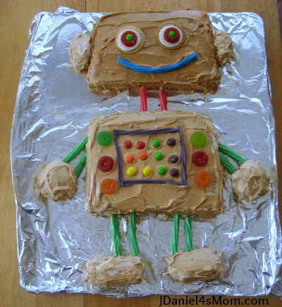 What is a Golden Birthday? - Robot Party and Cake