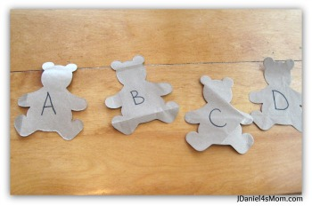Activities with Children - Learning with Paper Bag Bears