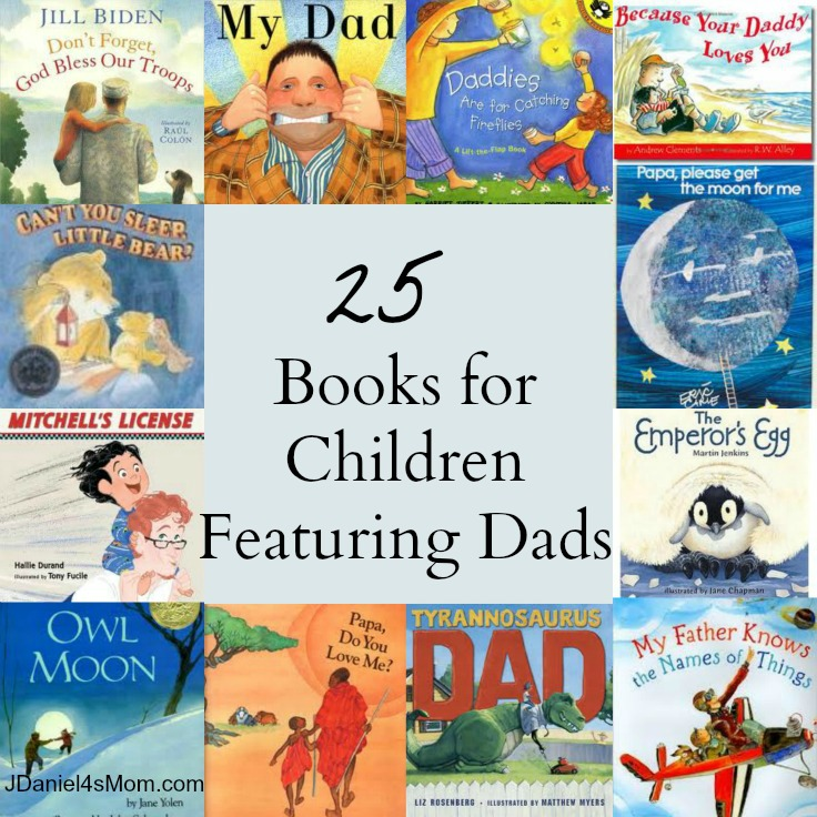 25 Children's Books Featuring Dads