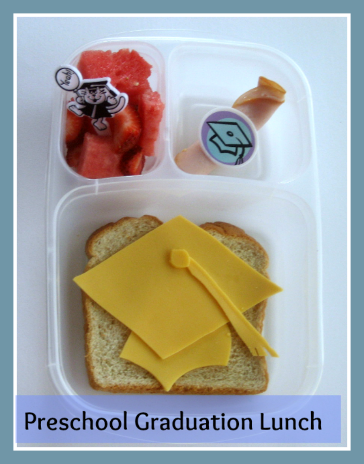 Preschool Graduation Lunch in a Bento