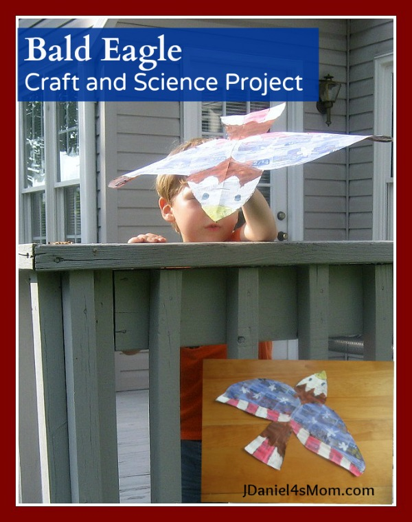 Bald Eagle Craft and Science Project