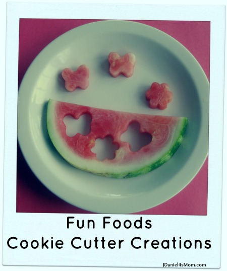 Fun Foods Cookie Cutter Food Creations