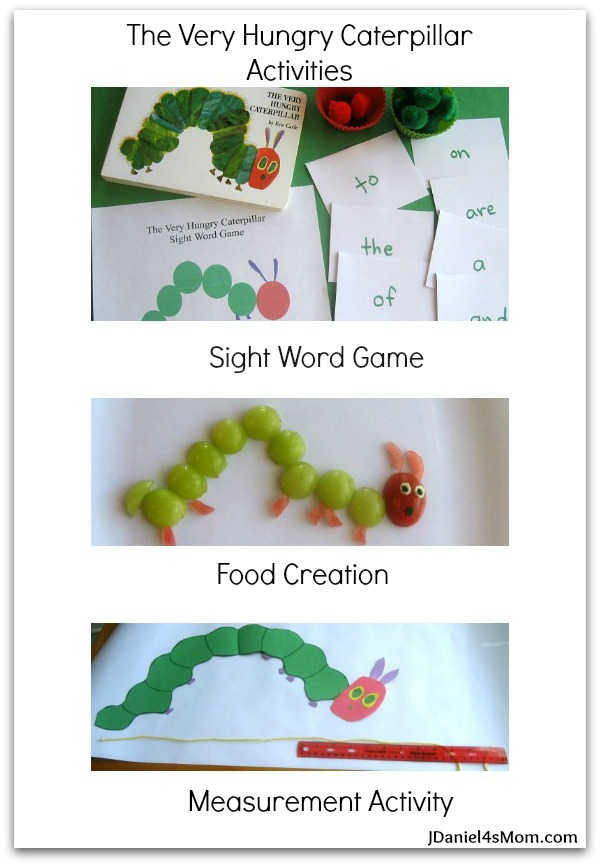 The Very Hungry Caterpillar- Read.Explore.Learn.