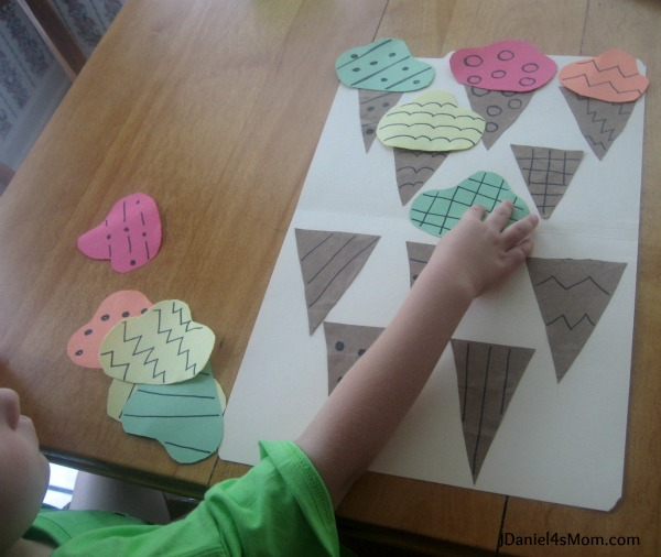 Preschool Activities- Ice Cream Games {Read.Explore.Learn}