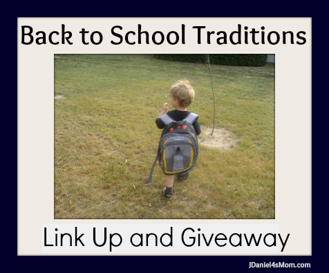 Back to School Traditions Link Up and Giveaway