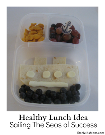 {Healthy Lunch Idea}  Seas of Success Lunch