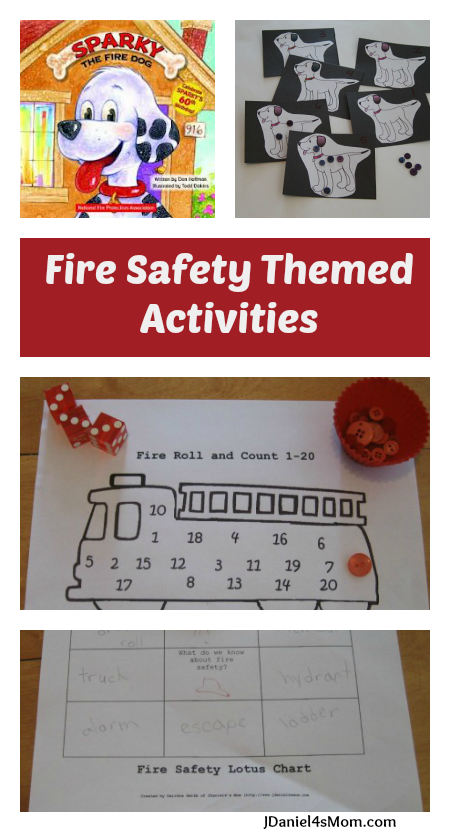 Read.Explore.Learn. - Fire Safety Themed Activites