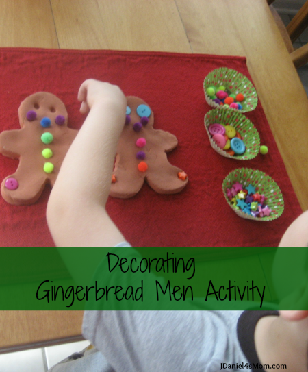 Decorating Gingerbread Activity