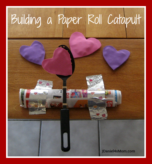 Building a Paper Roll Catapult