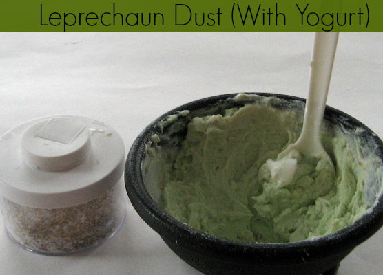 Saint Patricks Day Snack: Leprechaun Dust