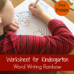 worksheet_for_kindergarten_word_writing_rainbow
