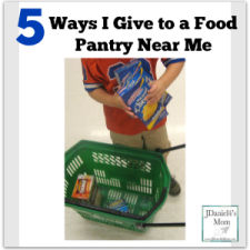 5 Ways I Give to a Food Pantry Near Me