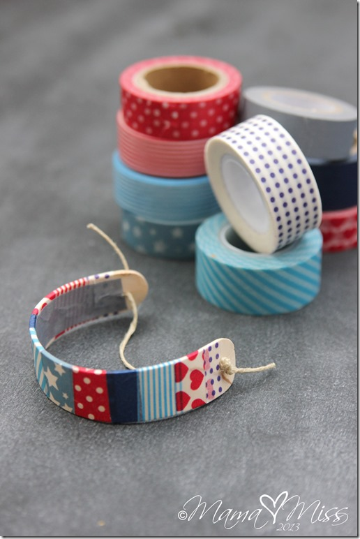 Washi, Painter's and Duct Tape Craft and Activities- Washi Tape Bracelets