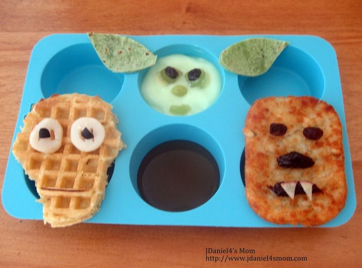 Muffin Tin Monday- Star Wars Birthday Lunch