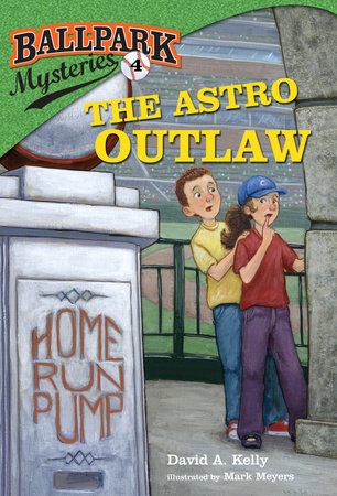 Spotlight on Remarkable Mystery For Kids-Ballpark Mysteries: The Astro Outlaw