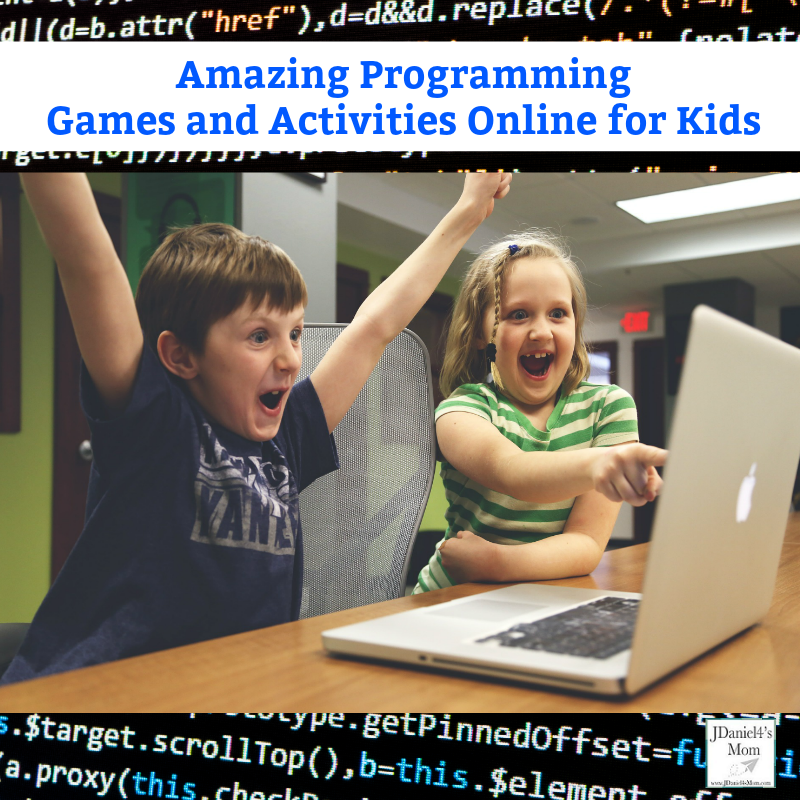 Amazing Programming Games and Activities Online for Kids