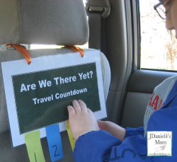 Are We There Yet? – Travel Countdown For Kids