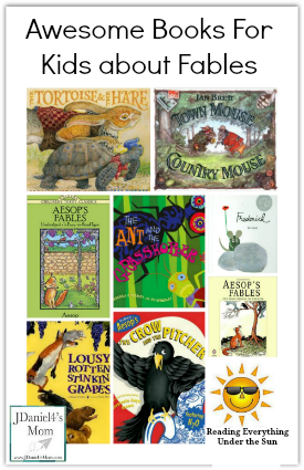 Awesome Books For Kids about Fables