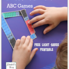 Awesome Star Wars ABC Games with Free Printables