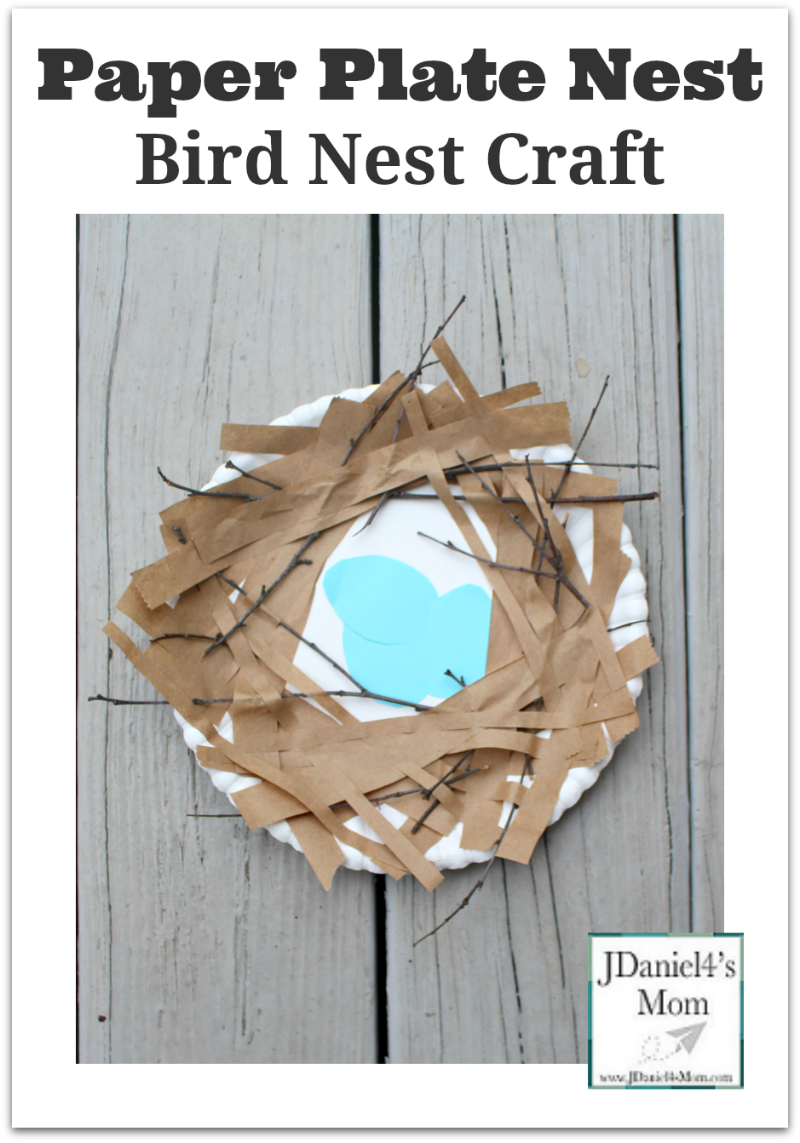 how to make a birds nest out of paper