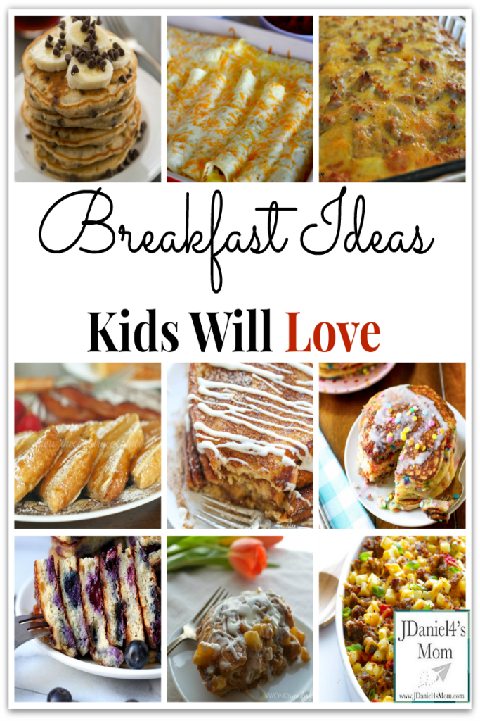 Breakfast Ideas Kids Will Love- What fun it will be to try each and every one of these recipes.