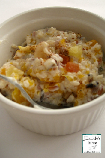 Breakfast Rice Recipes- Tropical Treat