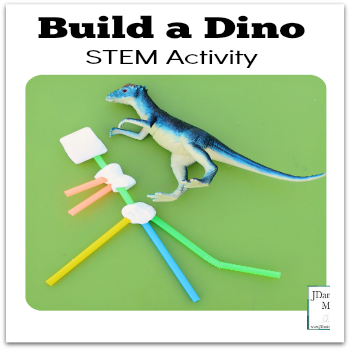 Build a Dino STEM Activity