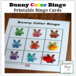 Bunny Color Bingo Printable Bingo Cards - I have come up with a number ways for your children to use this fun set of cards with your kids.