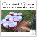 Carnival Games Ball and Cups Bounce