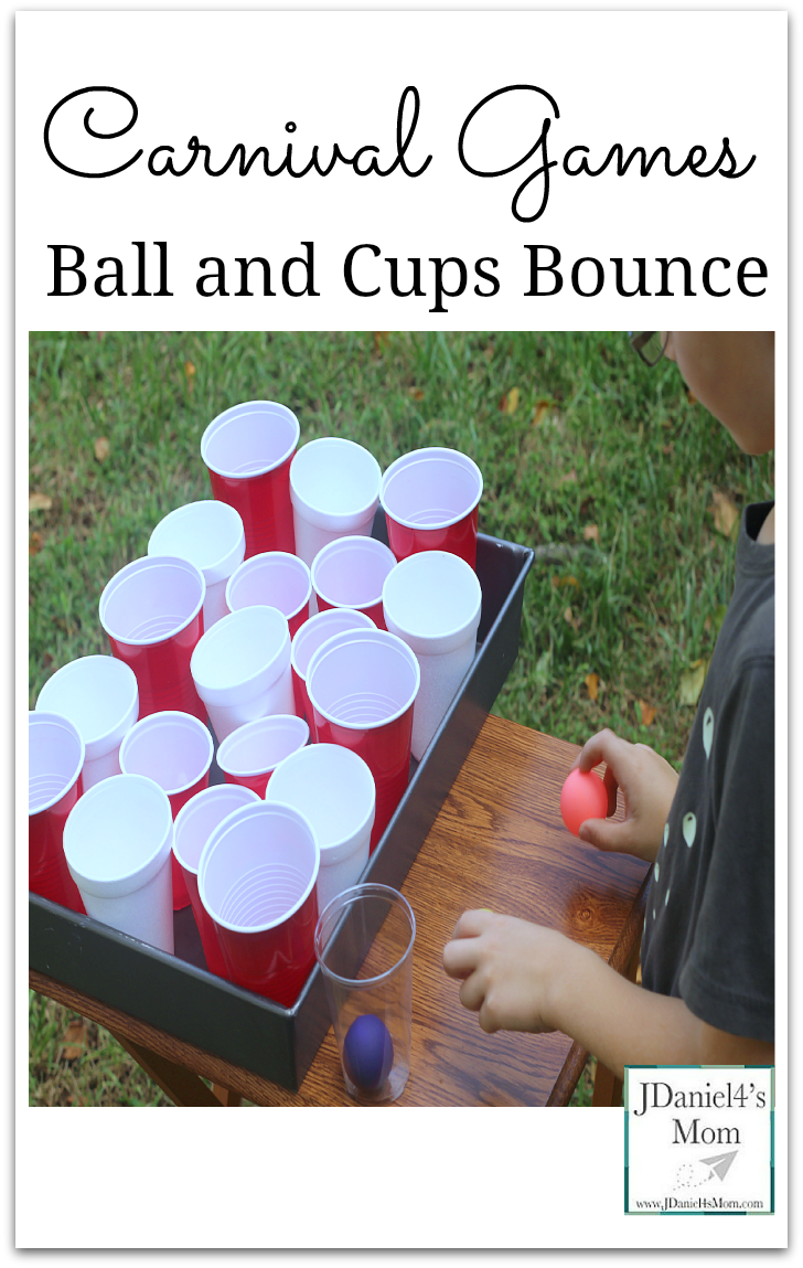 Carnvial Games Ball And Cups Bounce
