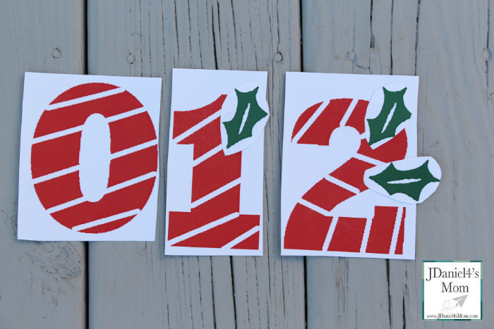 Christmas Counting Games Peppermint Numbers.