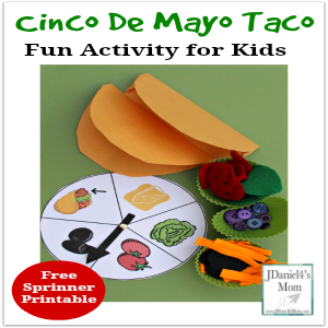 Cinco De Mayo Taco- Fun Activity for Kids